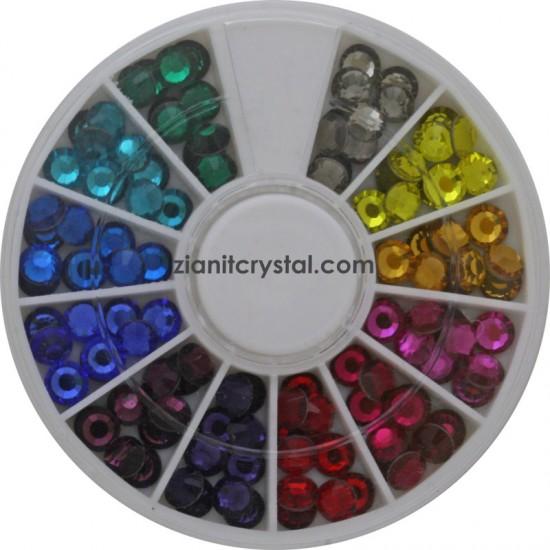 Preciosa Hotfix Crystals SS20 Multicolor Pack