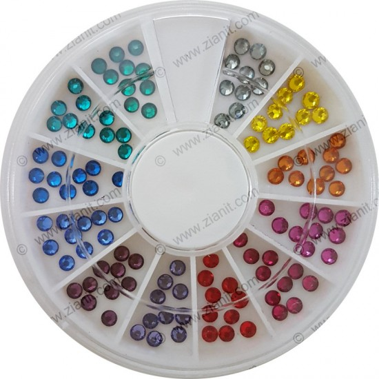 Swarovski Hotfix Crystals SS10 Multicolor Pack