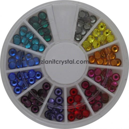 Swarovski Hotfix Crystals SS16 Multicolor Pack
