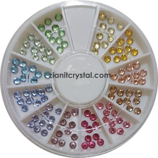 Swarovski Hotfix Crystals SS10 Light Color Pack