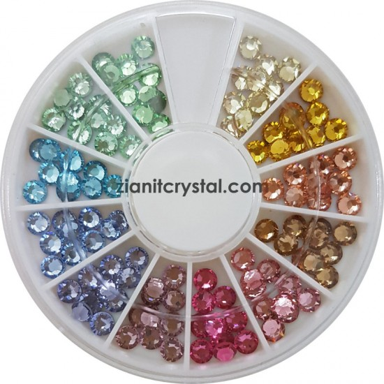 Swarovski Hotfix Crystals SS16 Light Color Pack