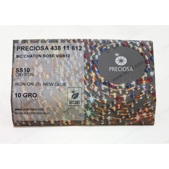 Preciosa Hotfix Crystals SS10 Crystal Color 1440 pcs
