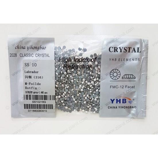 YHB Hotfix Crystals SS10 Labrador 1440 pcs