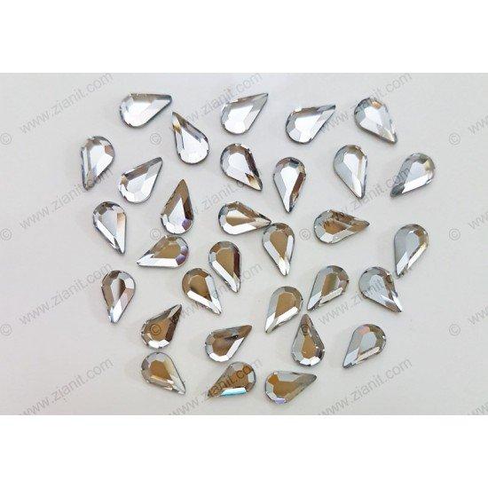 Swarovski 2300 Hotfix Crystals Teardrop Shape Crystal Color 8 x 4.8mm