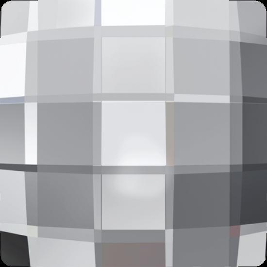 Swarovski 2493 Hotfix Crystals Chessboard Shape Crystal Color 8mm