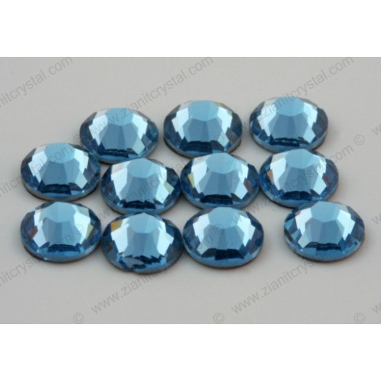 Swarovski 2078 Hotfix Crystals SS34 Aquamarine