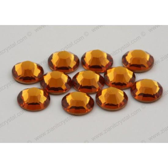 Swarovski 2078 Hotfix Crystals SS34 Topaz