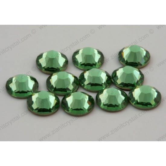 Swarovski 2078 Hotfix Crystals SS12 Peridot