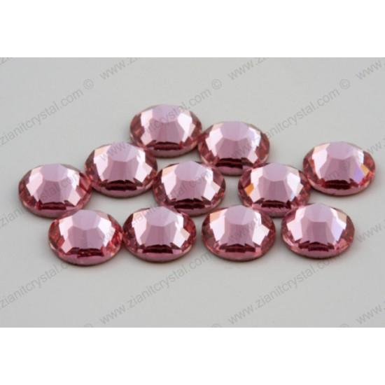 Swarovski 2038 Hotfix Crystals SS10 Light Rose