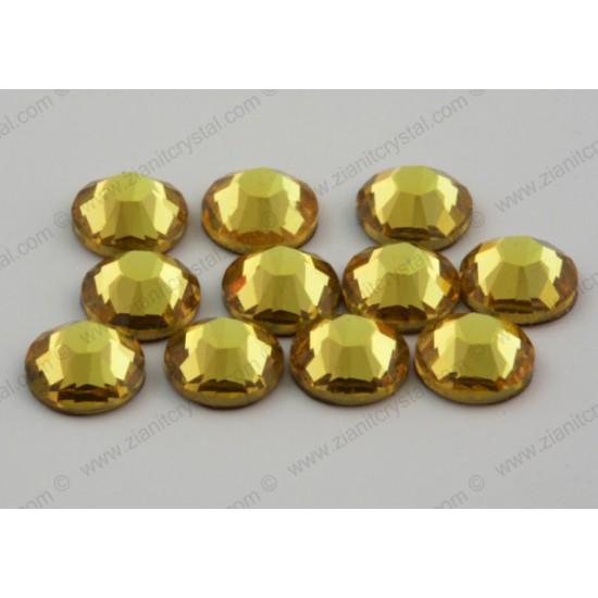 Swarovski 2038 Hotfix Crystals SS10 Light Topaz