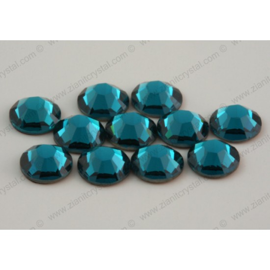 Swarovski 2038 Hotfix Crystals SS10 Blue Zircon