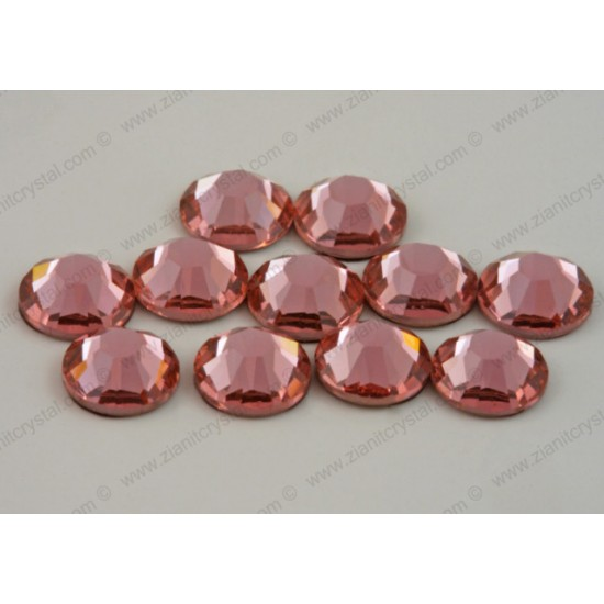 Swarovski 2038 Hotfix Crystals SS10 Rose Peach
