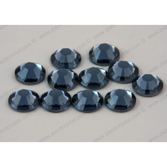 Swarovski 2038 Hotfix Crystals SS10 Denim Blue