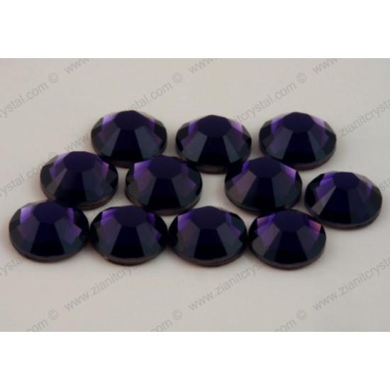 Swarovski 2038 Hotfix Crystals SS10 Purple Velvet