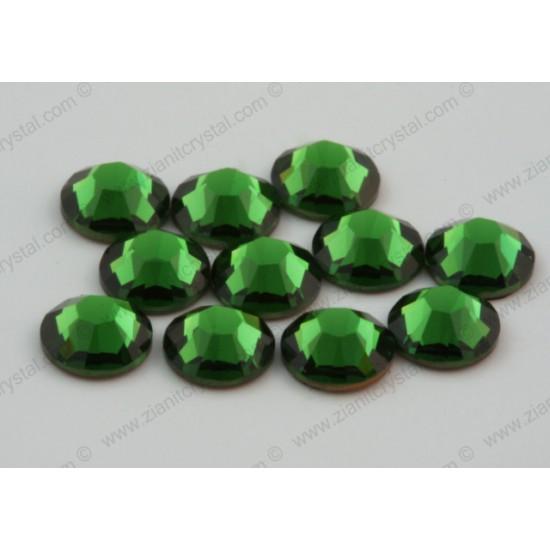 Swarovski 2038 Hotfix Crystals SS10 Fern Green