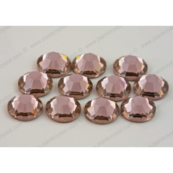 Swarovski 2078 Hotfix Crystals SS16 Vintage Rose