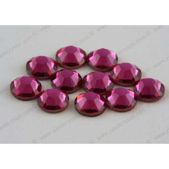 Swarovski 2078 Hotfix Crystals SS16 Fuchsia