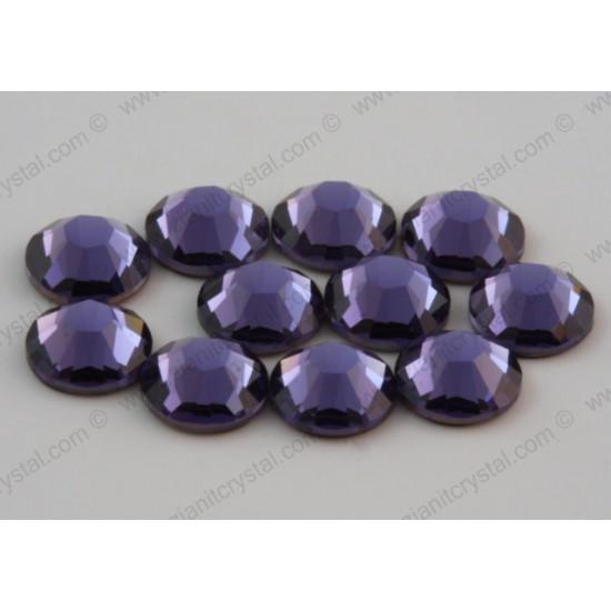 Swarovski 2078 Hotfix Crystals SS16 Tanzanite