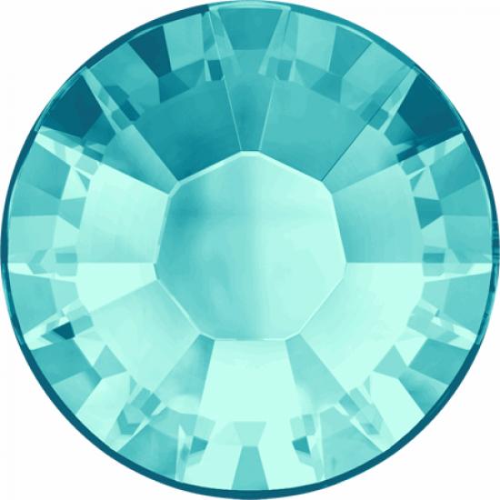Swarovski 2038 Hotfix Crystals SS10 Light Turquoise