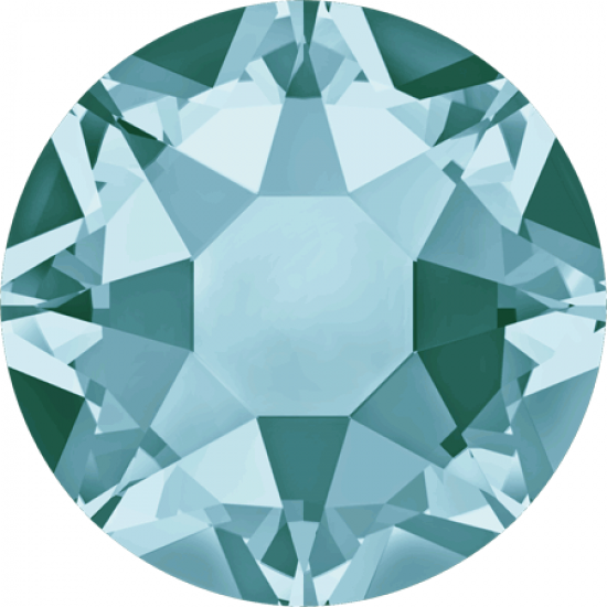 Swarovski 2078 Hotfix Crystals SS16 Light Turquoise