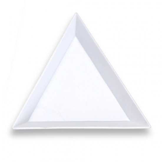 Triangular Sorting Tray for Hotfix Crystals (7x7x7 cm)